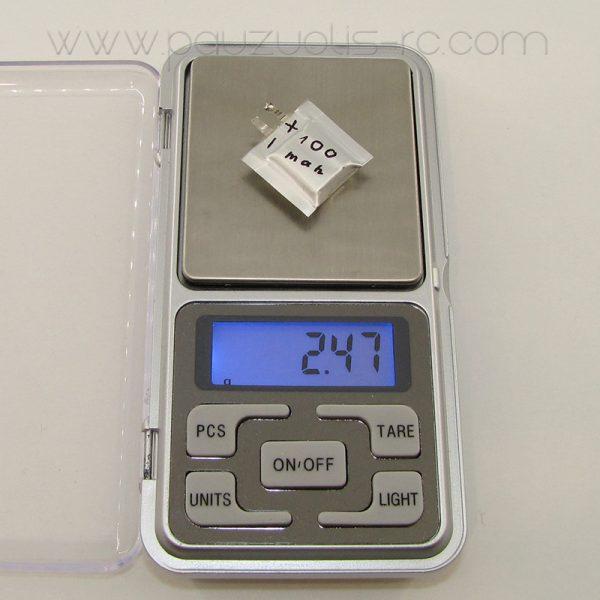 fmd-lipo-battery-100mah-2s-weight
