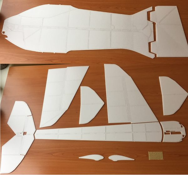 F3P Rc plane model Super Trino 2018 kit 1