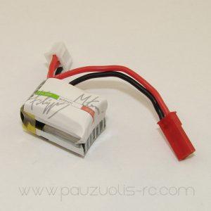 Lipo battery 100 mAh 2S1P 7.4V 25/50C 7g. FMD Graphene